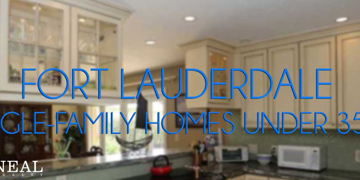 Fort Lauderdale Homes Under 350K