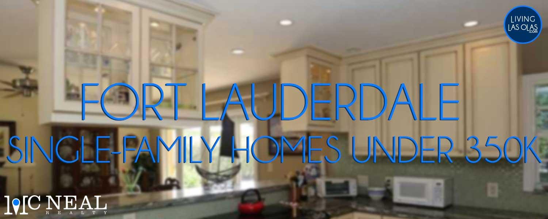 Fort Lauderdale Homes Under 350K