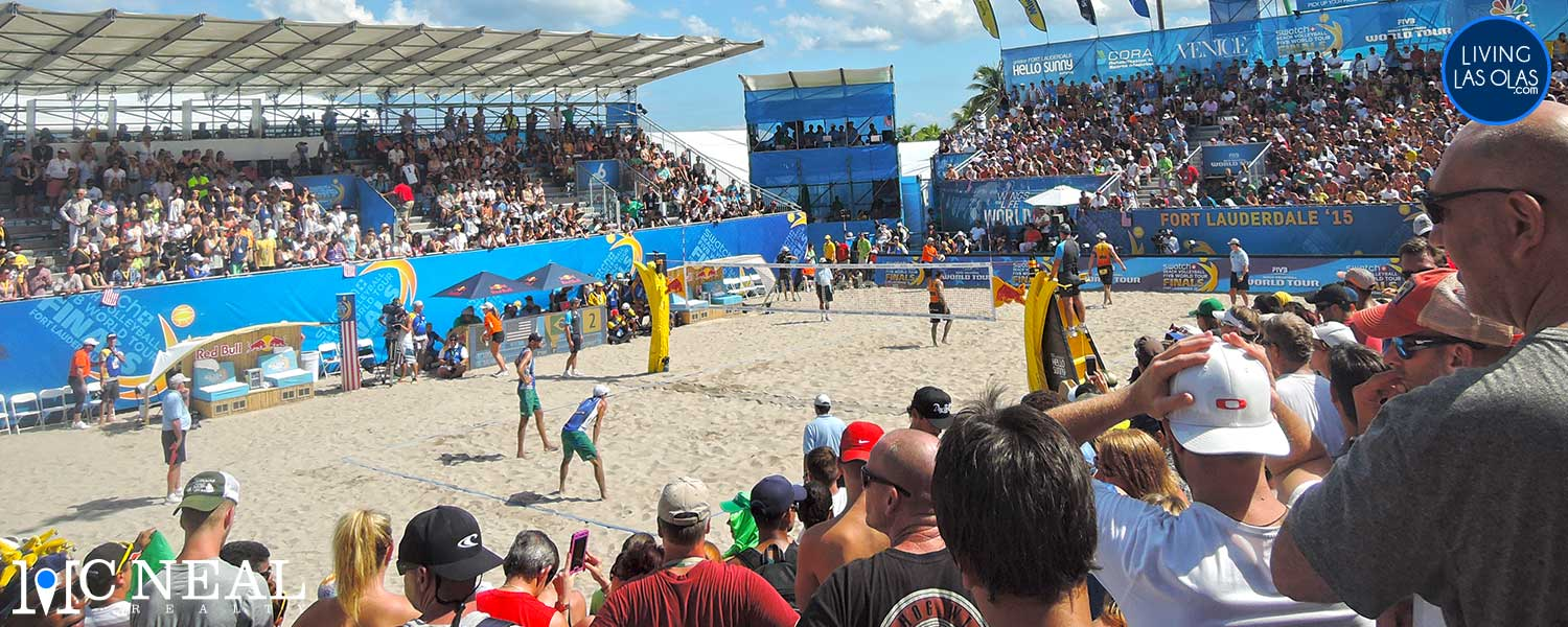 Beach Vollyball FIVB Fort Lauderdale Hero