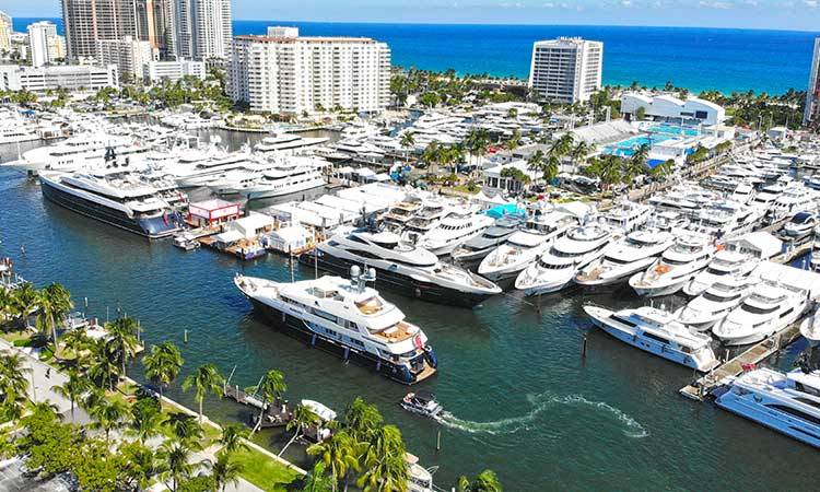 Fort Lauderdale International Boat Show Images 07