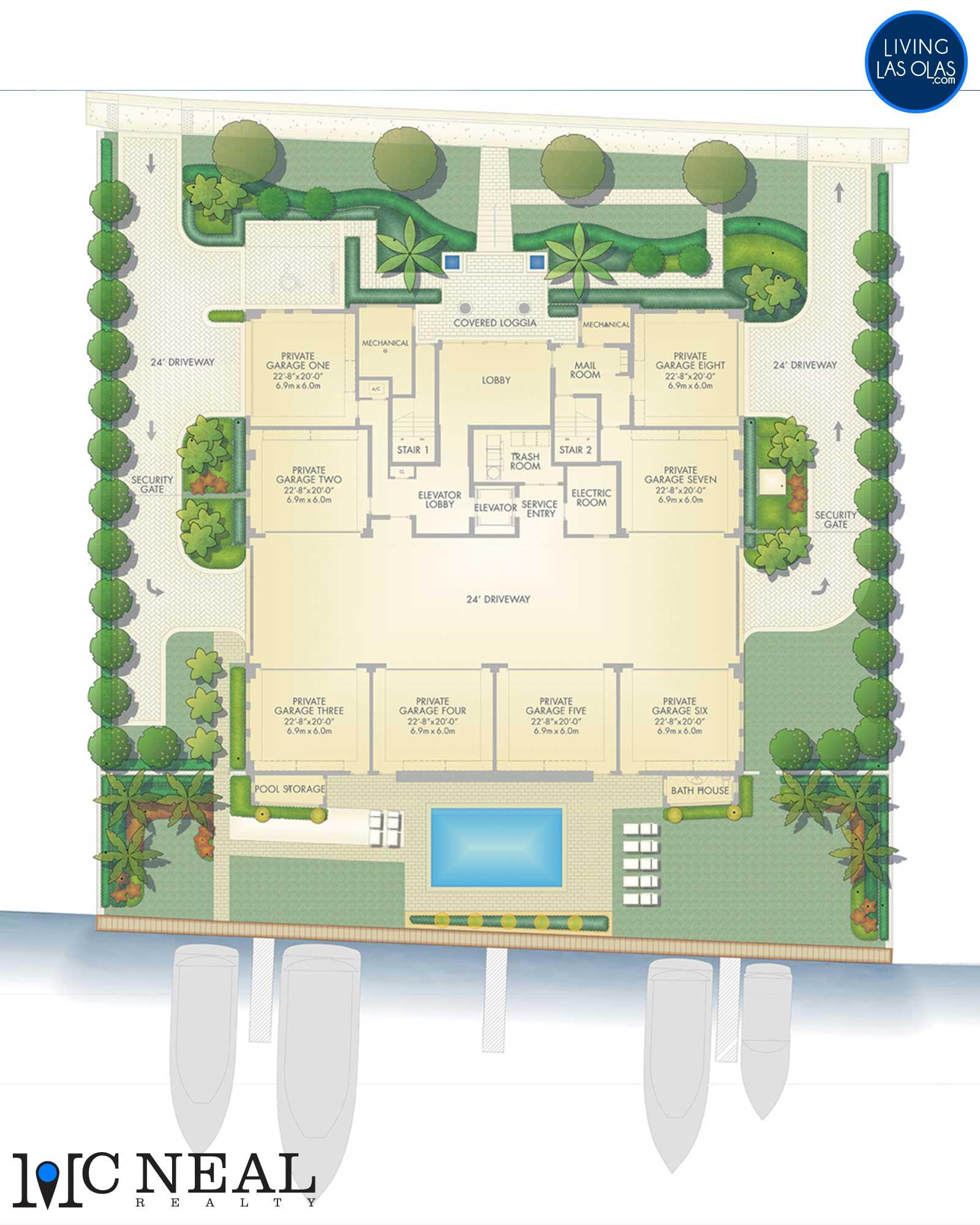 353 Sunset Condos Floor Plan SitePlan