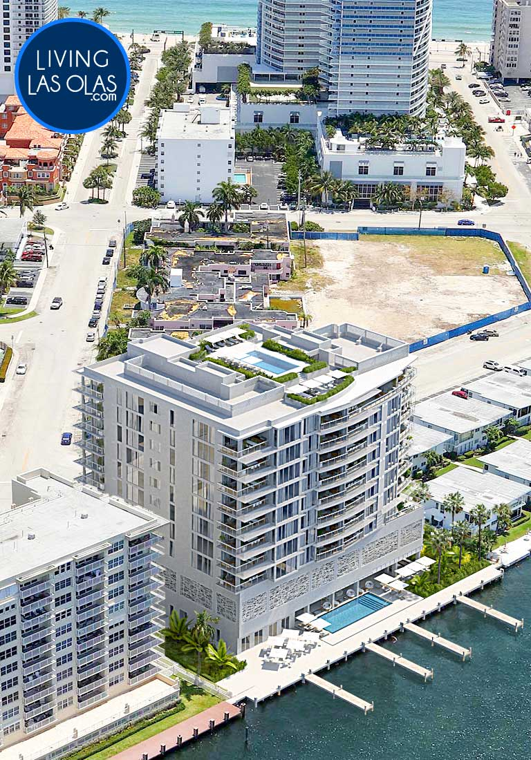 Adagio Fort Lauderdale Beach Condos Side