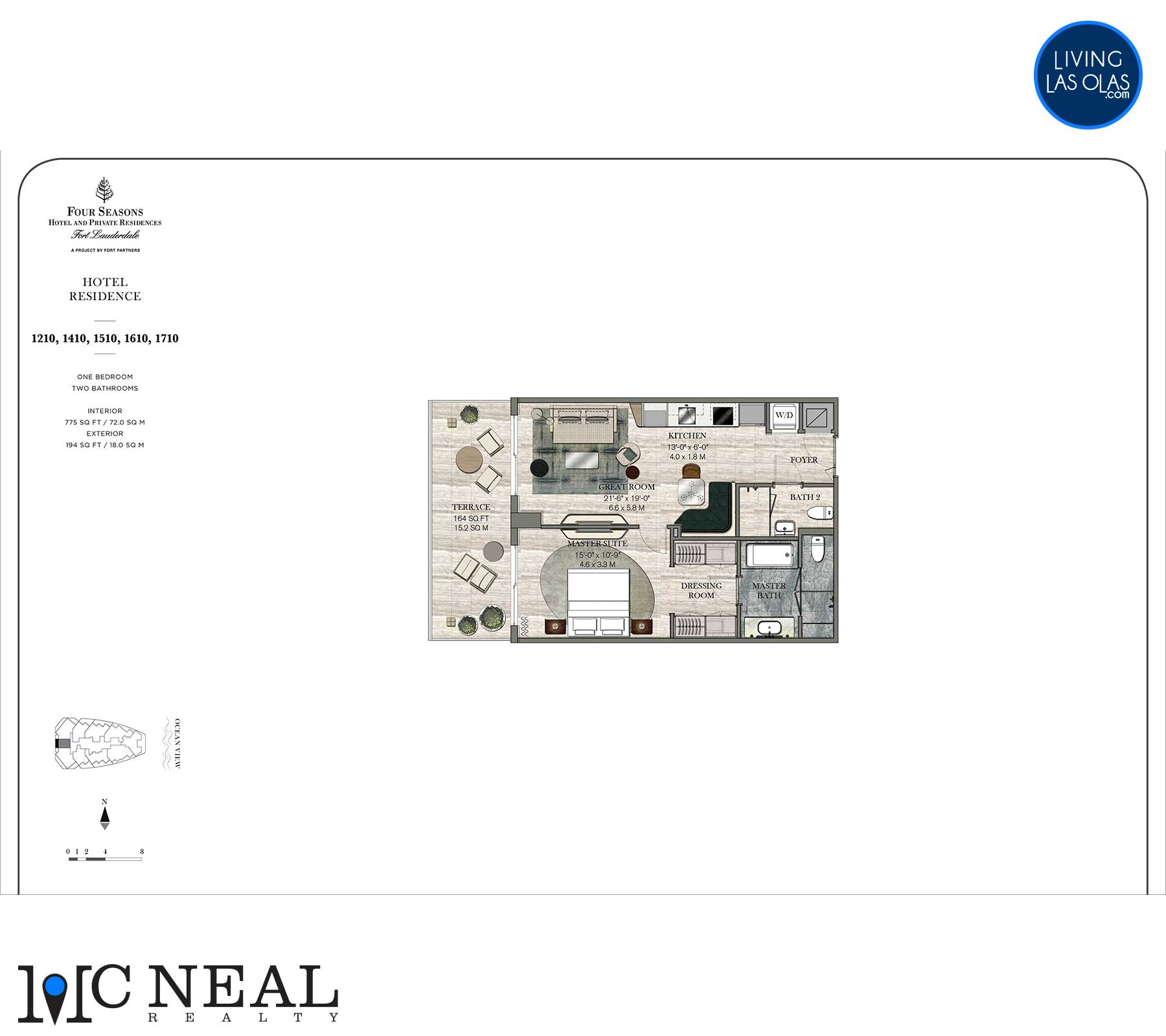 Four Seasons Hotel Residences Floor Plan 1210-1710