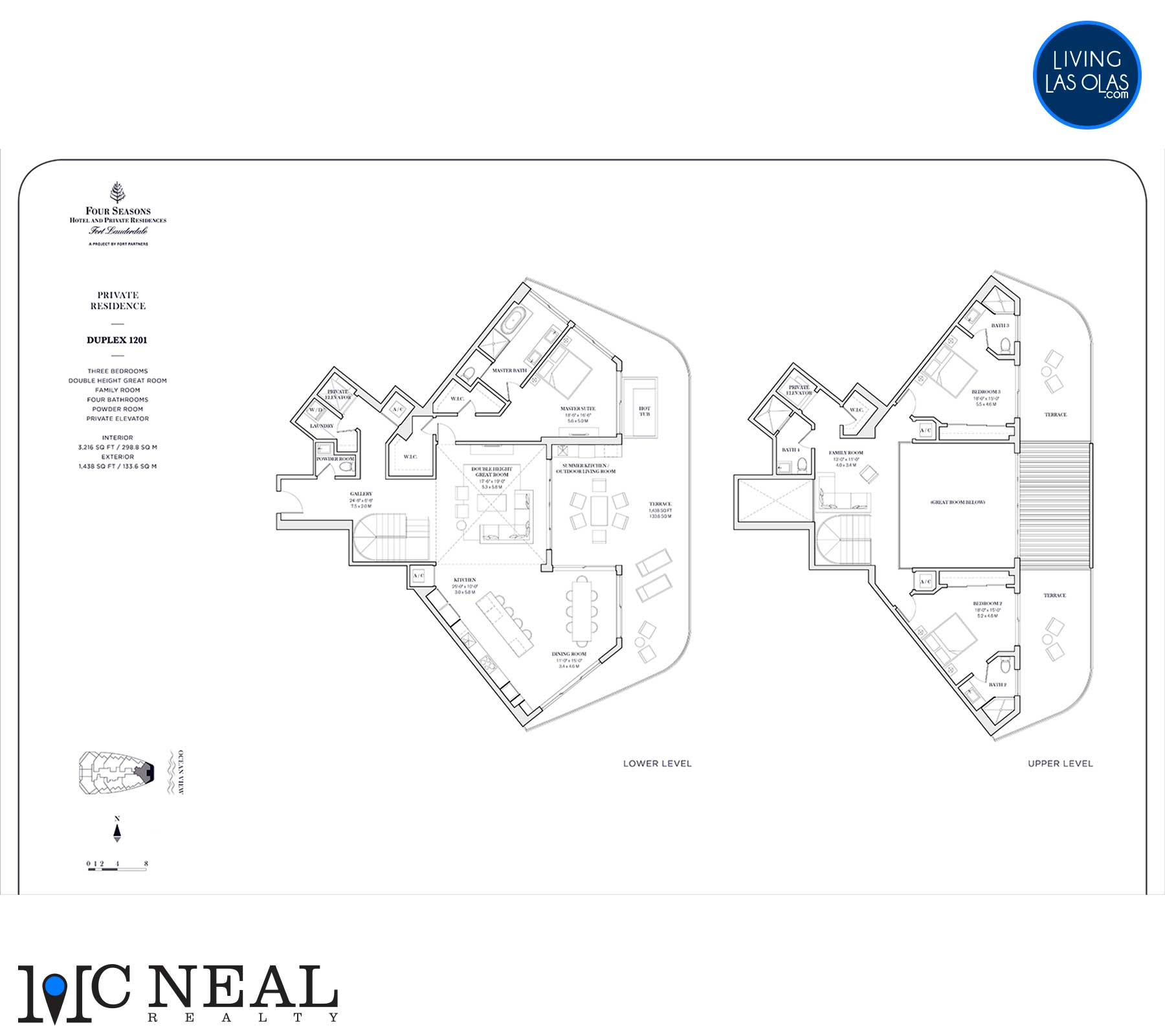 Four Seasons Private Residences Floor Plan 1201