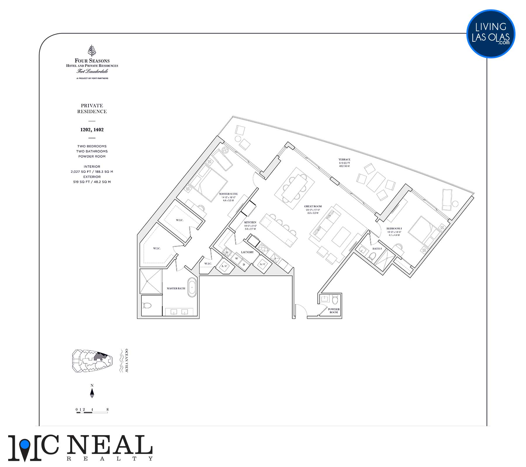 Four Seasons Private Residences Floor Plan 1202-1402