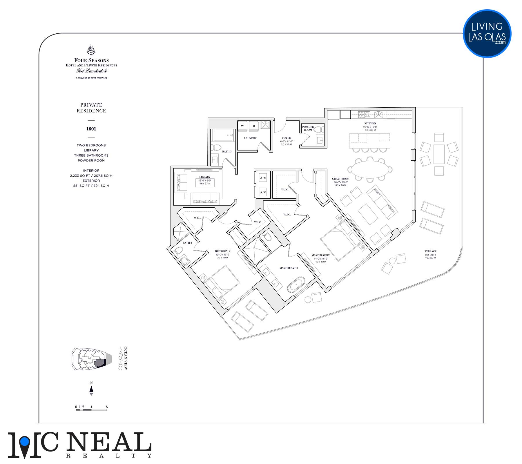 Four Seasons Private Residences Floor Plan 1601
