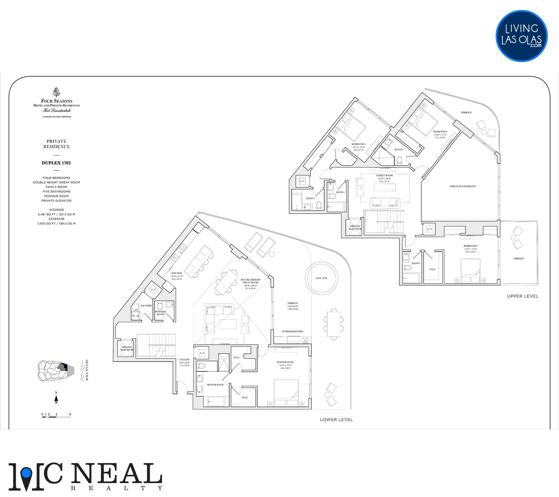 Four Seasons Private Residences Floor Plan 1702