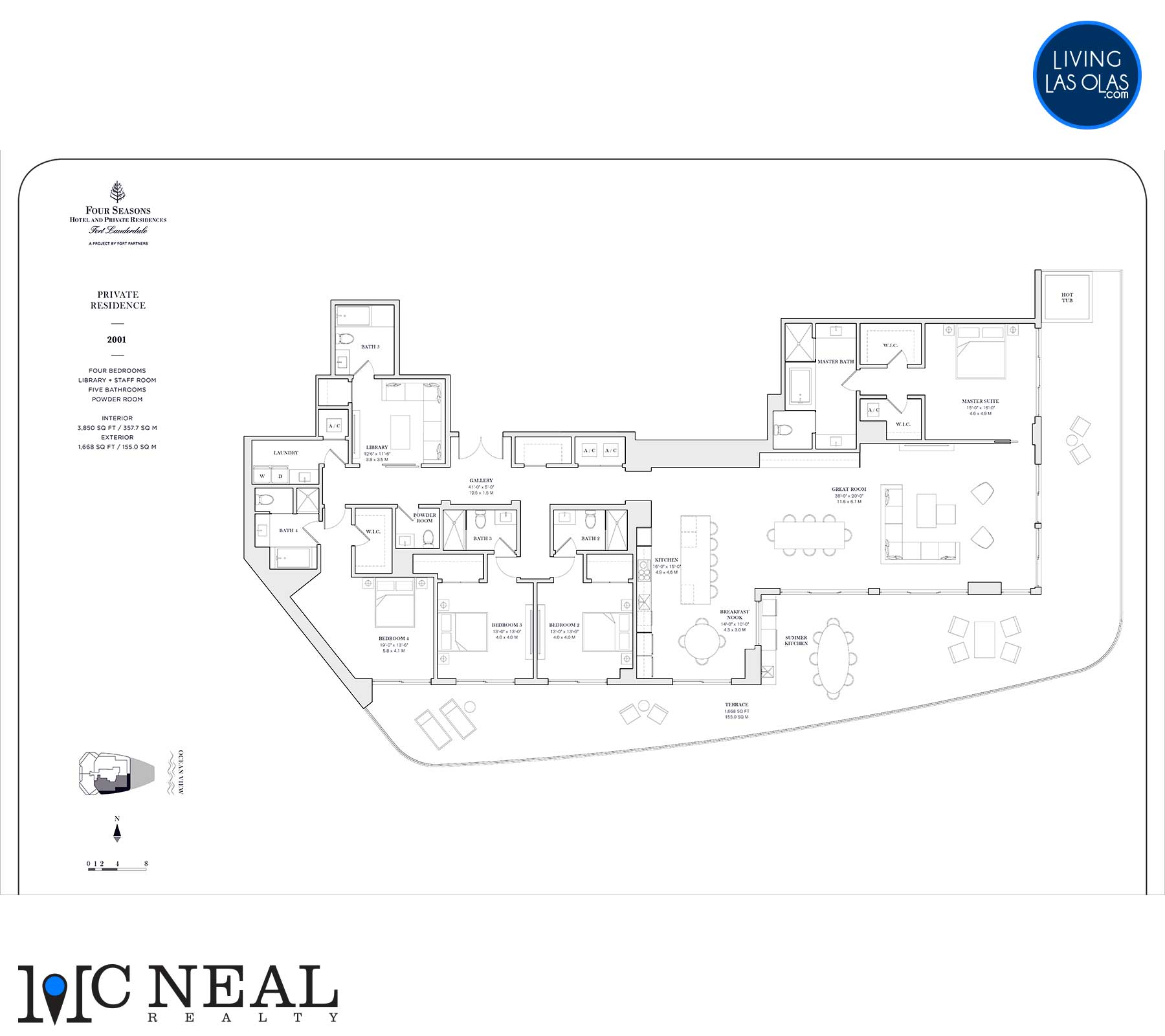 Four Seasons Private Residences Floor Plan 2001