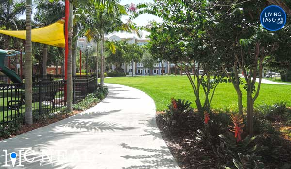 Flagler Village Neighborhood Fort Laudedale Park