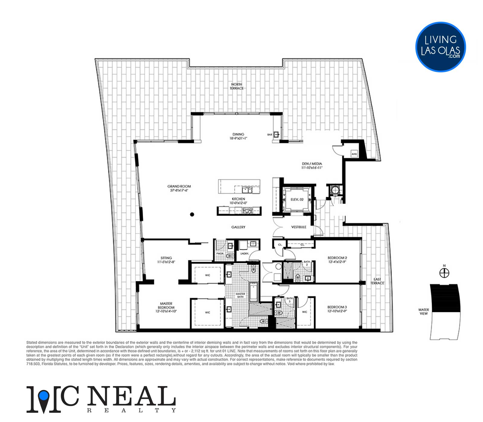 Palms On Venice Floor Plans Penthouse North
