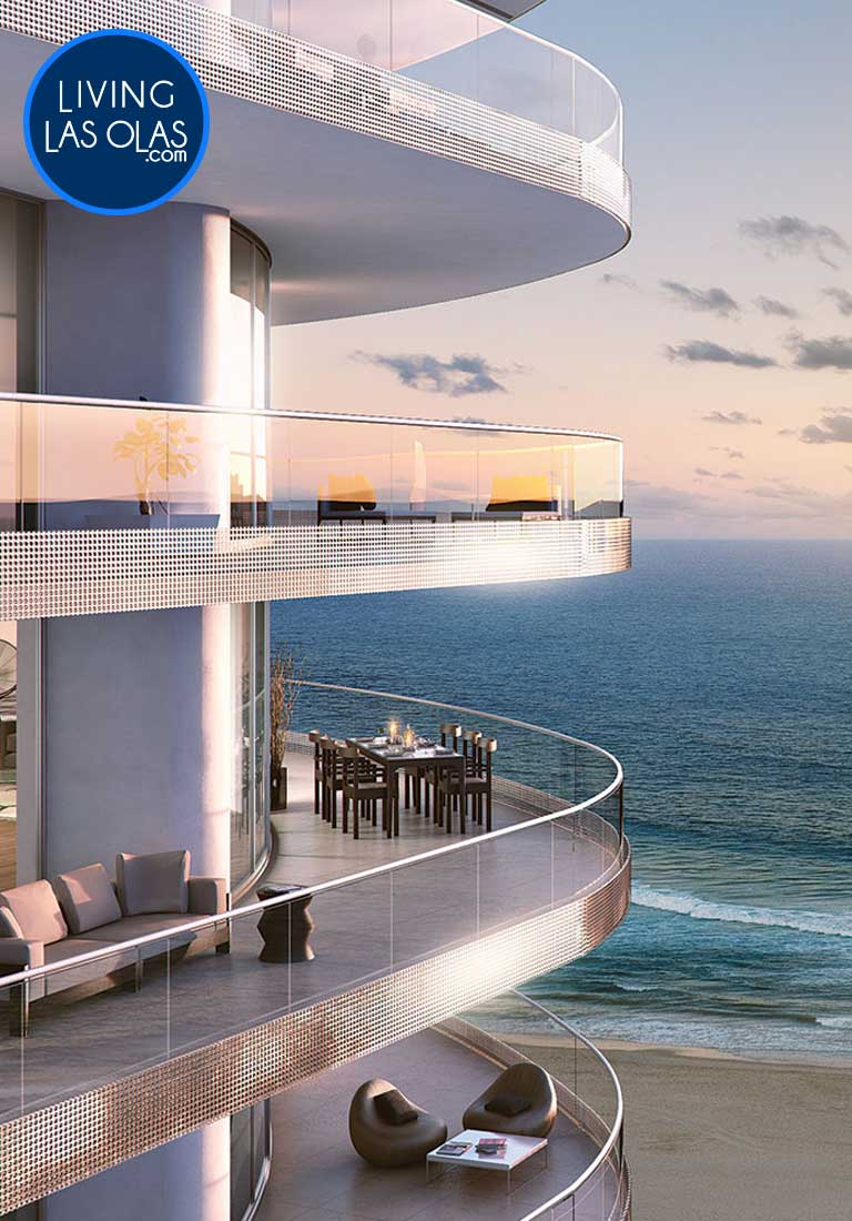 Paramount Fort Lauderdale Beach Condos Side
