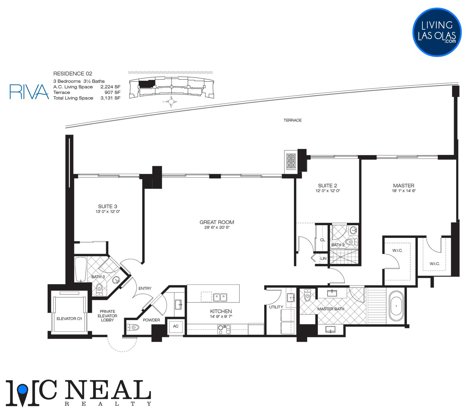 Riva Condos Fort Lauderdale Floor Plans Residence 02