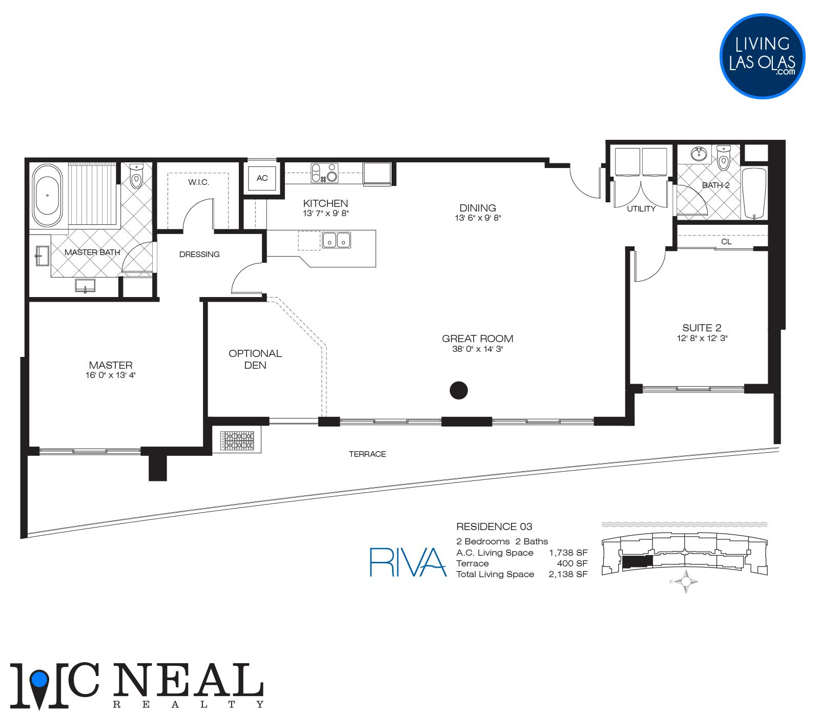Riva Condos Fort Lauderdale Floor Plans Residence 03