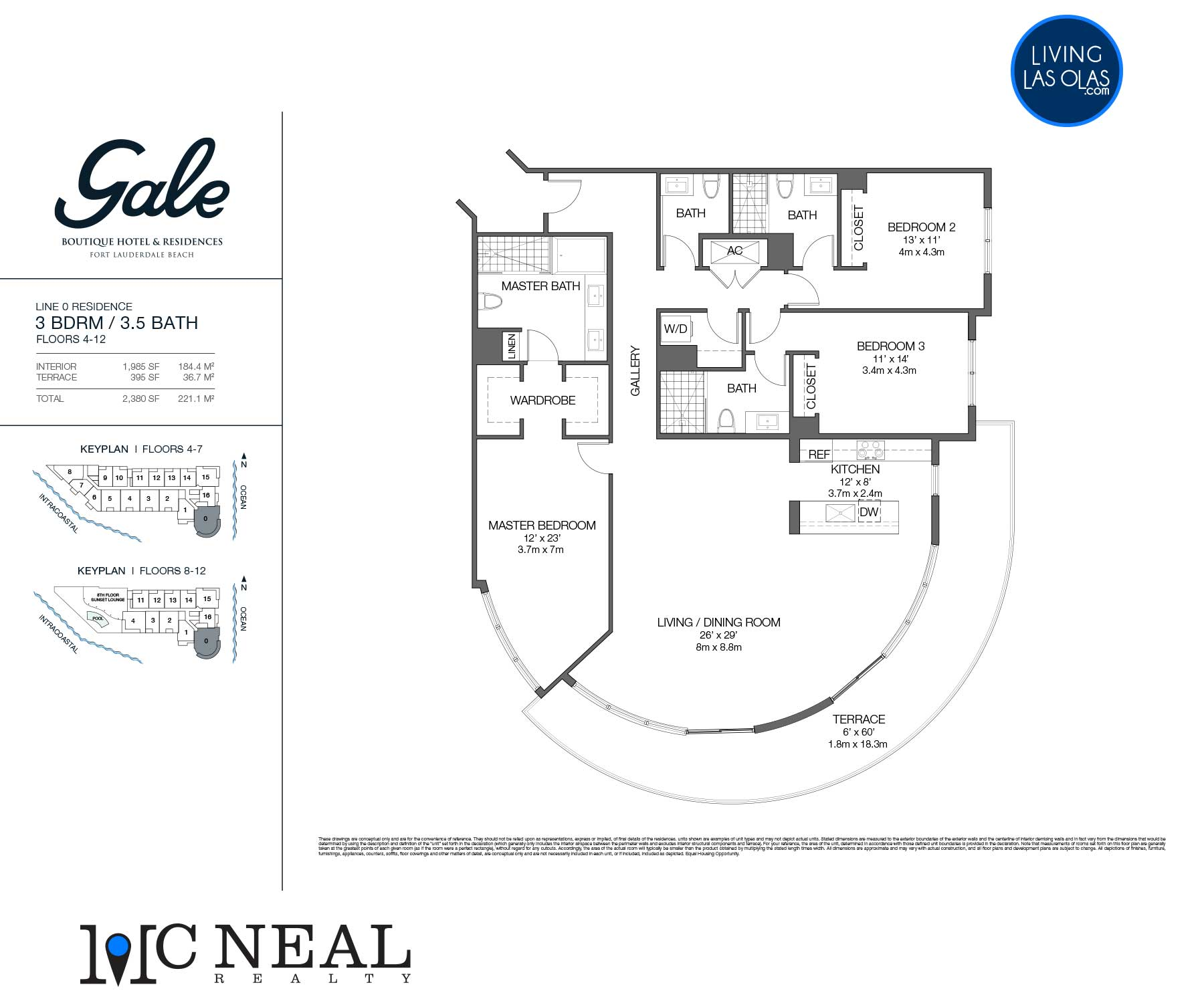 Tiffany House Condos Floor Plans Line 0