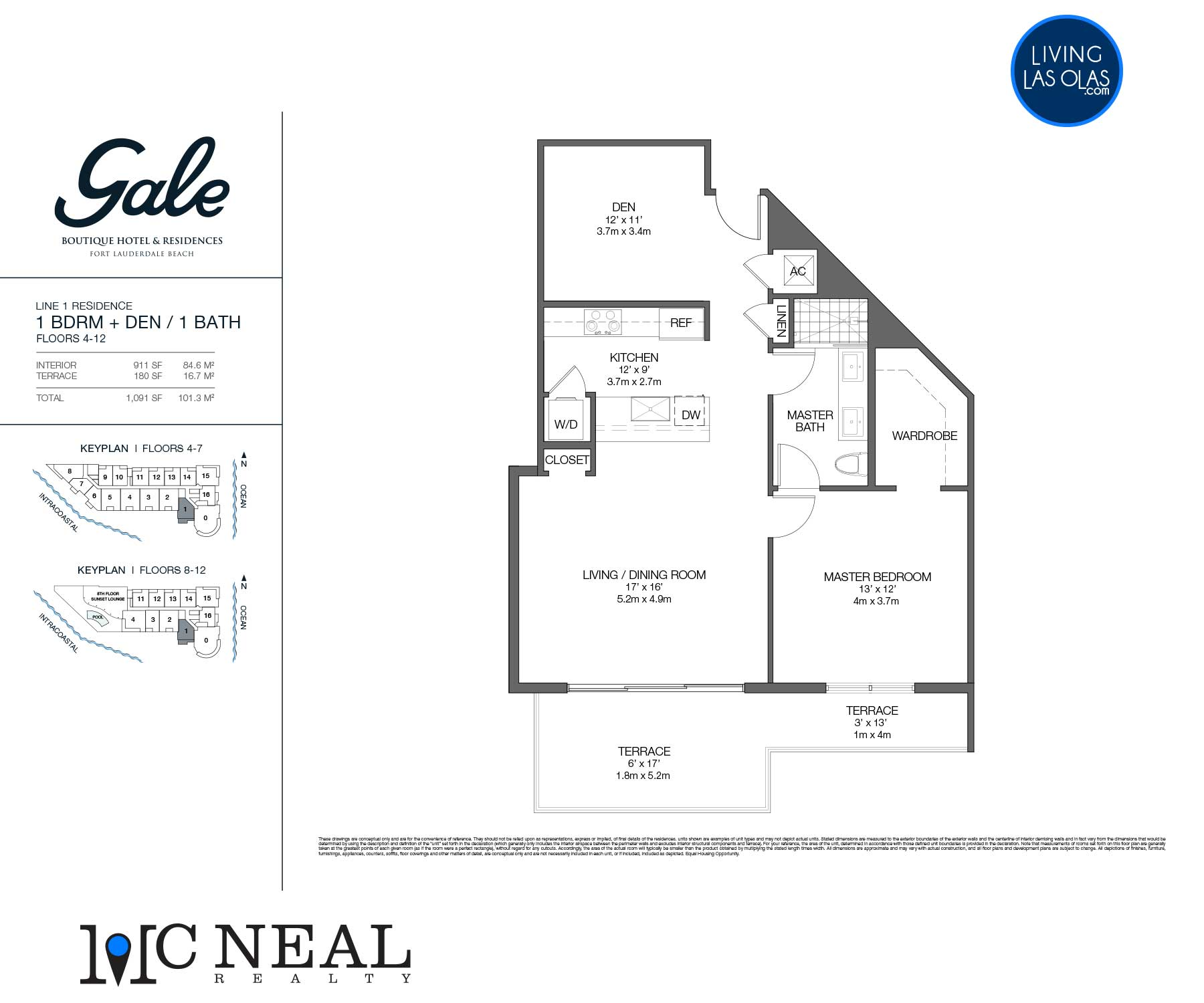 Tiffany House Condos Floor Plans Line 1