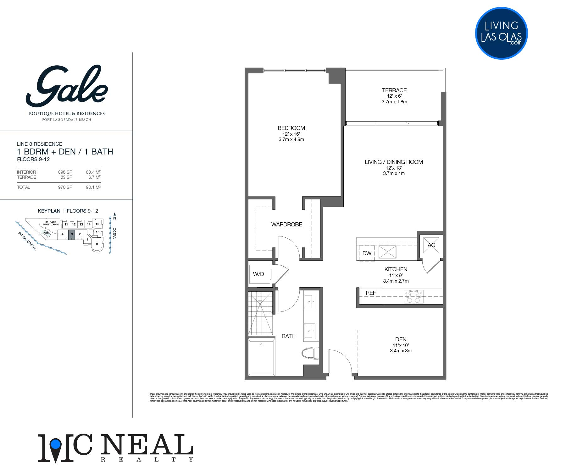 Tiffany House Condos Floor Plans Line 3