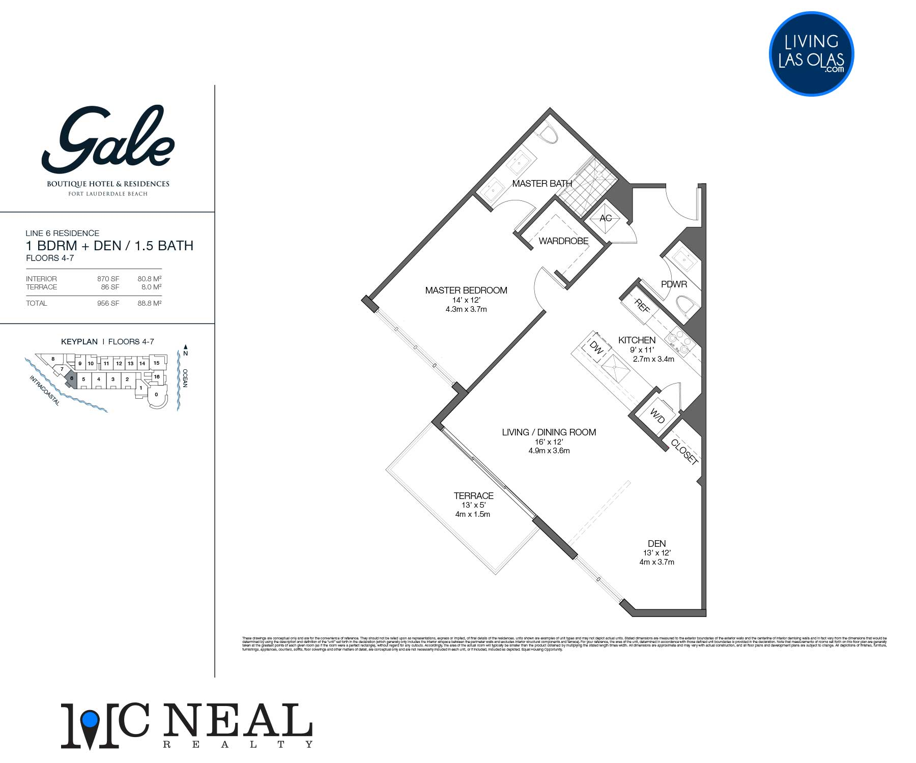 Tiffany House Condos Floor Plans Line 6
