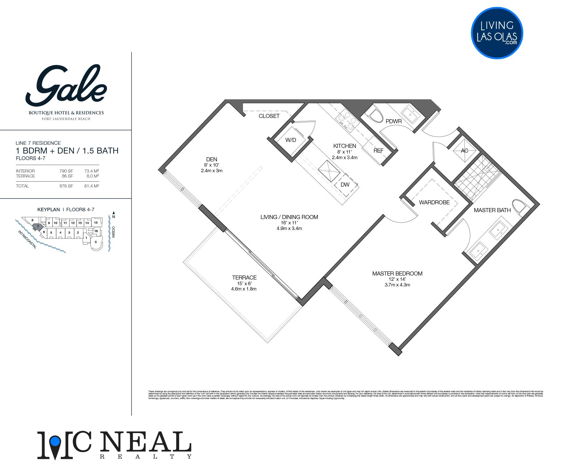 Tiffany House Condos Floor Plans Line 7