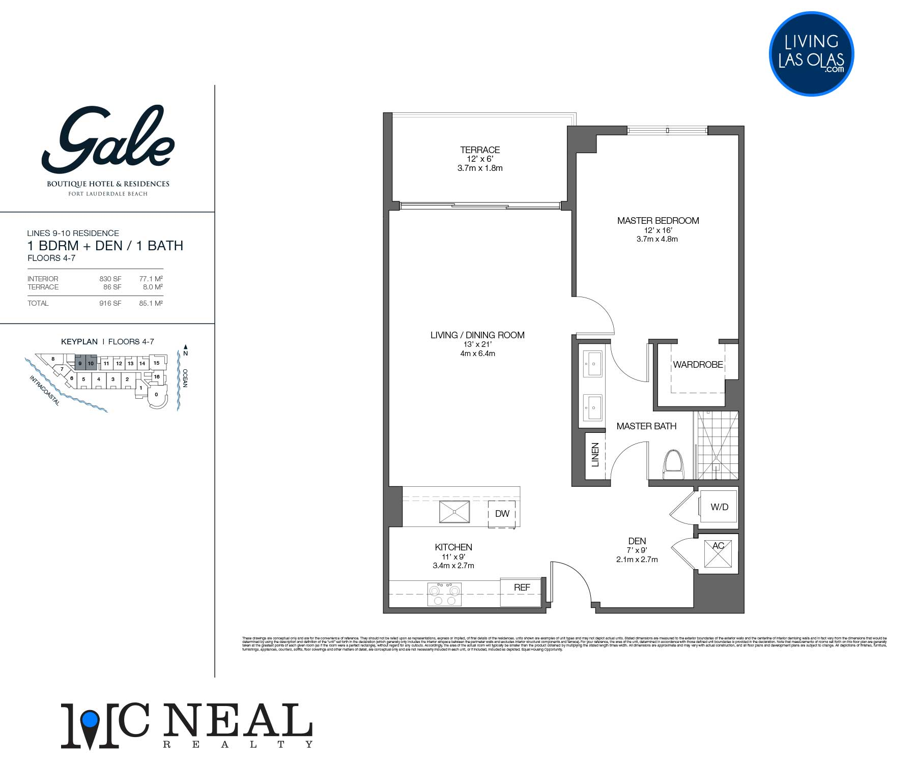 Tiffany House Condos Floor Plans Line 9-10
