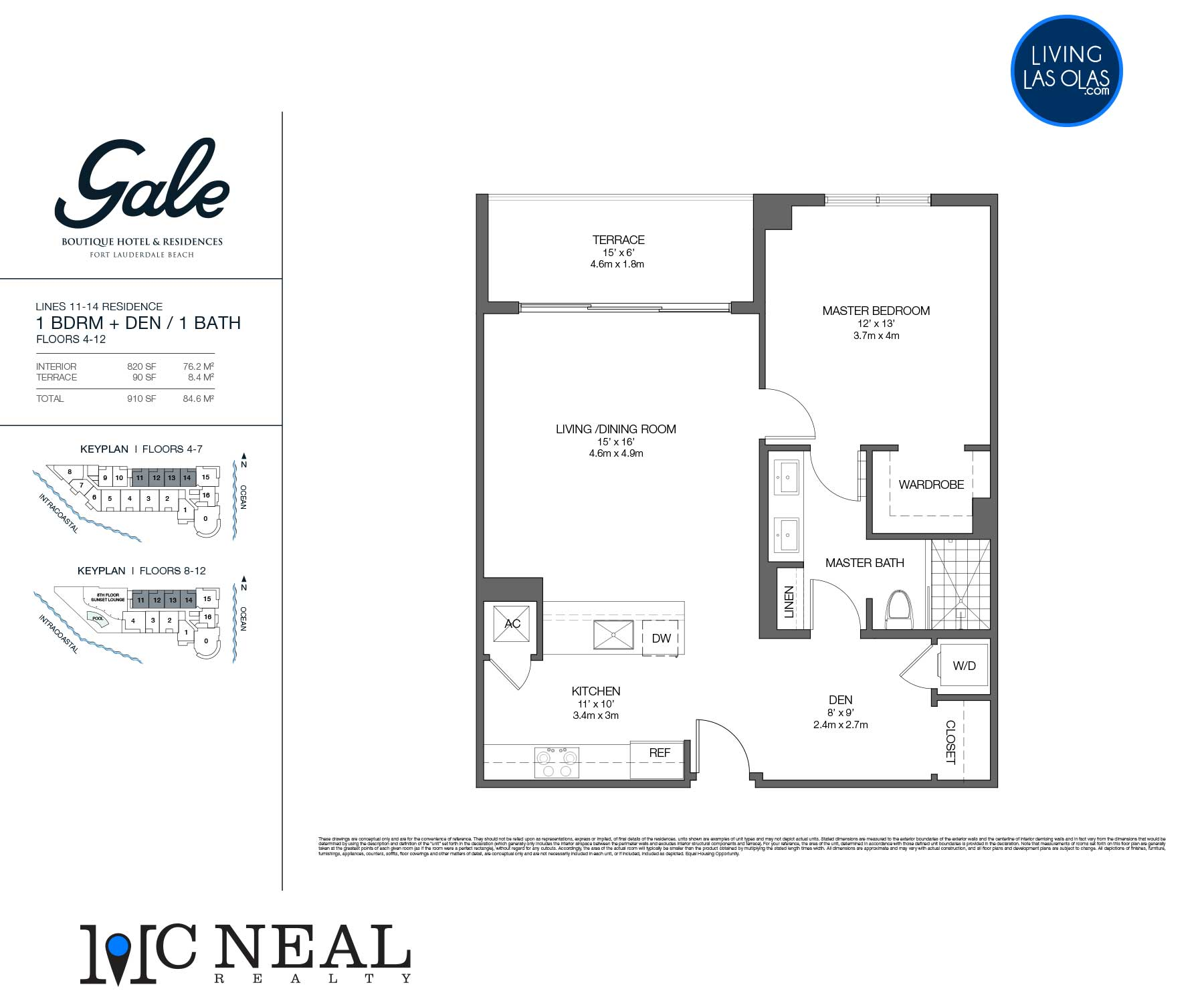 Tiffany House Condos Floor Plans Line 11-14