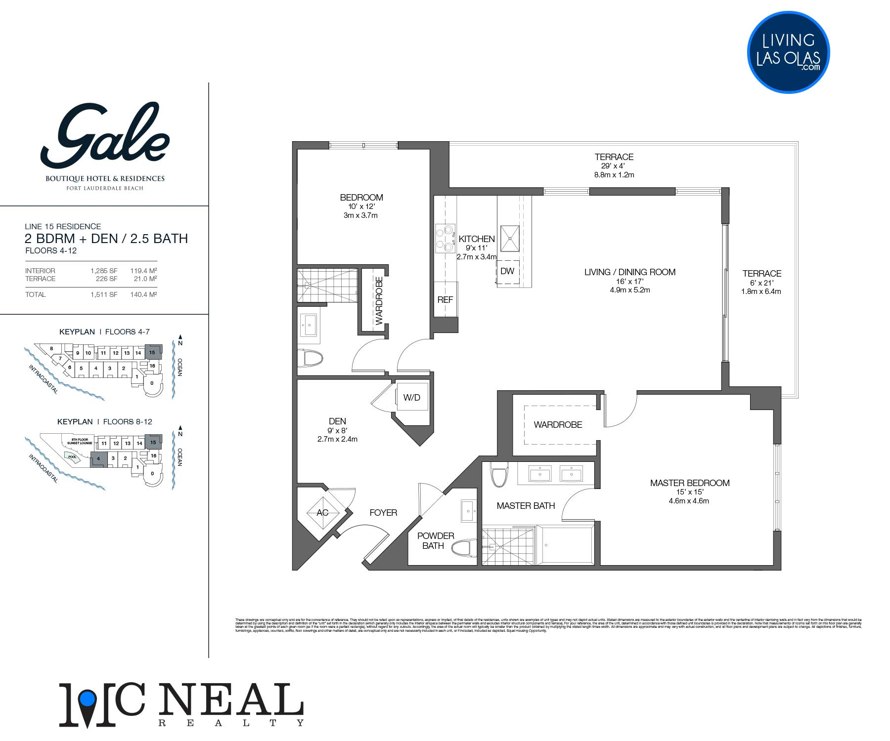 Tiffany House Condos Floor Plans Line 15