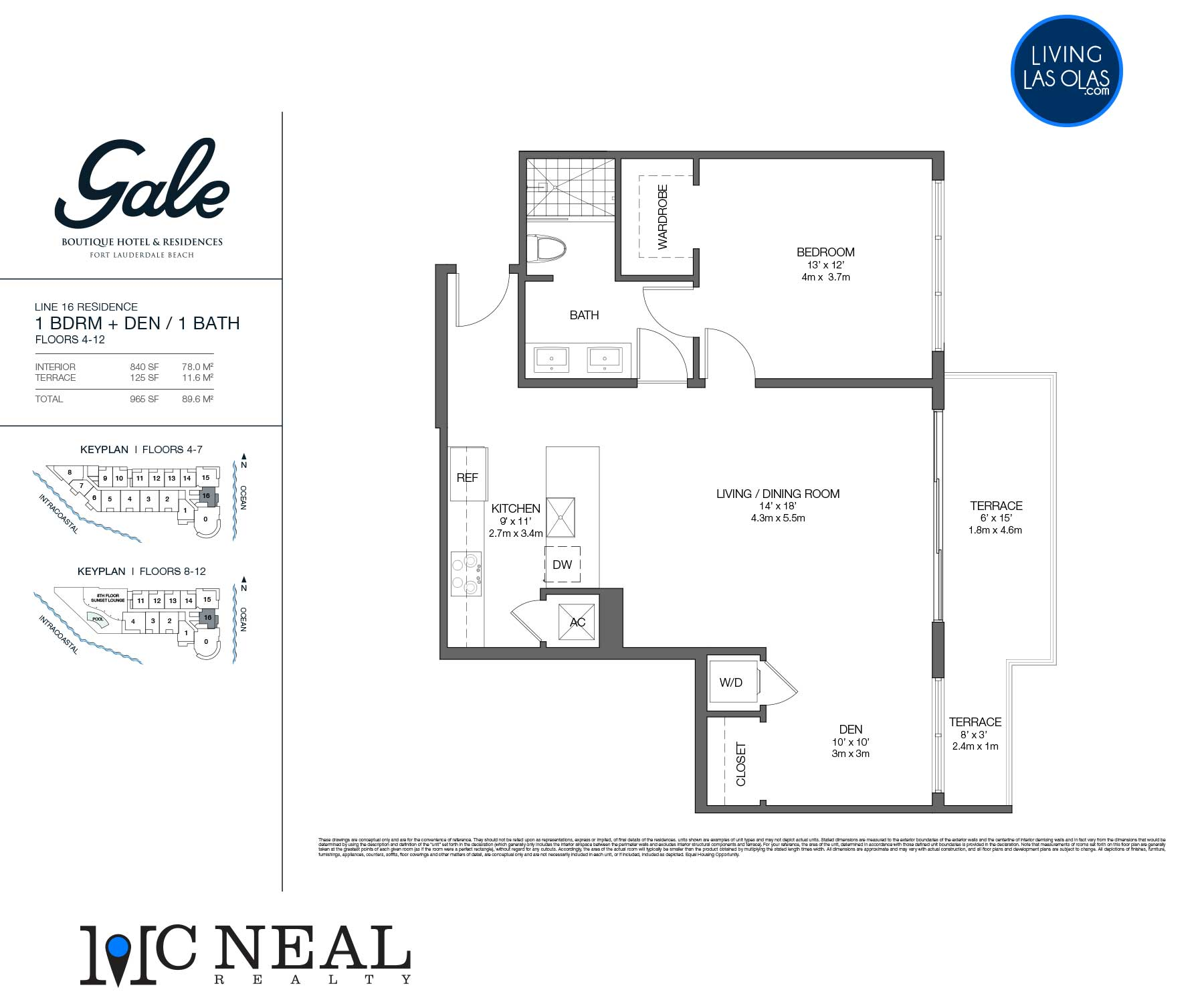 Tiffany House Condos Floor Plans Line16