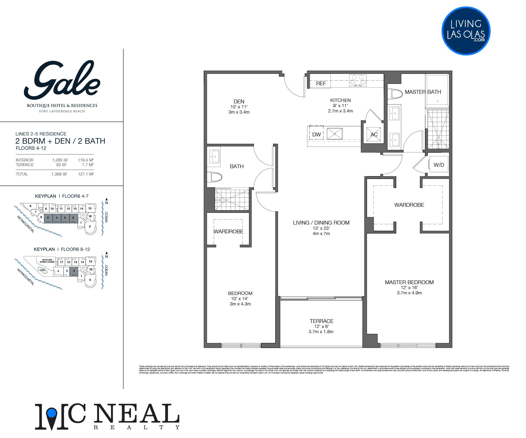 Tiffany House Condos Floor Plans Line 2-5
