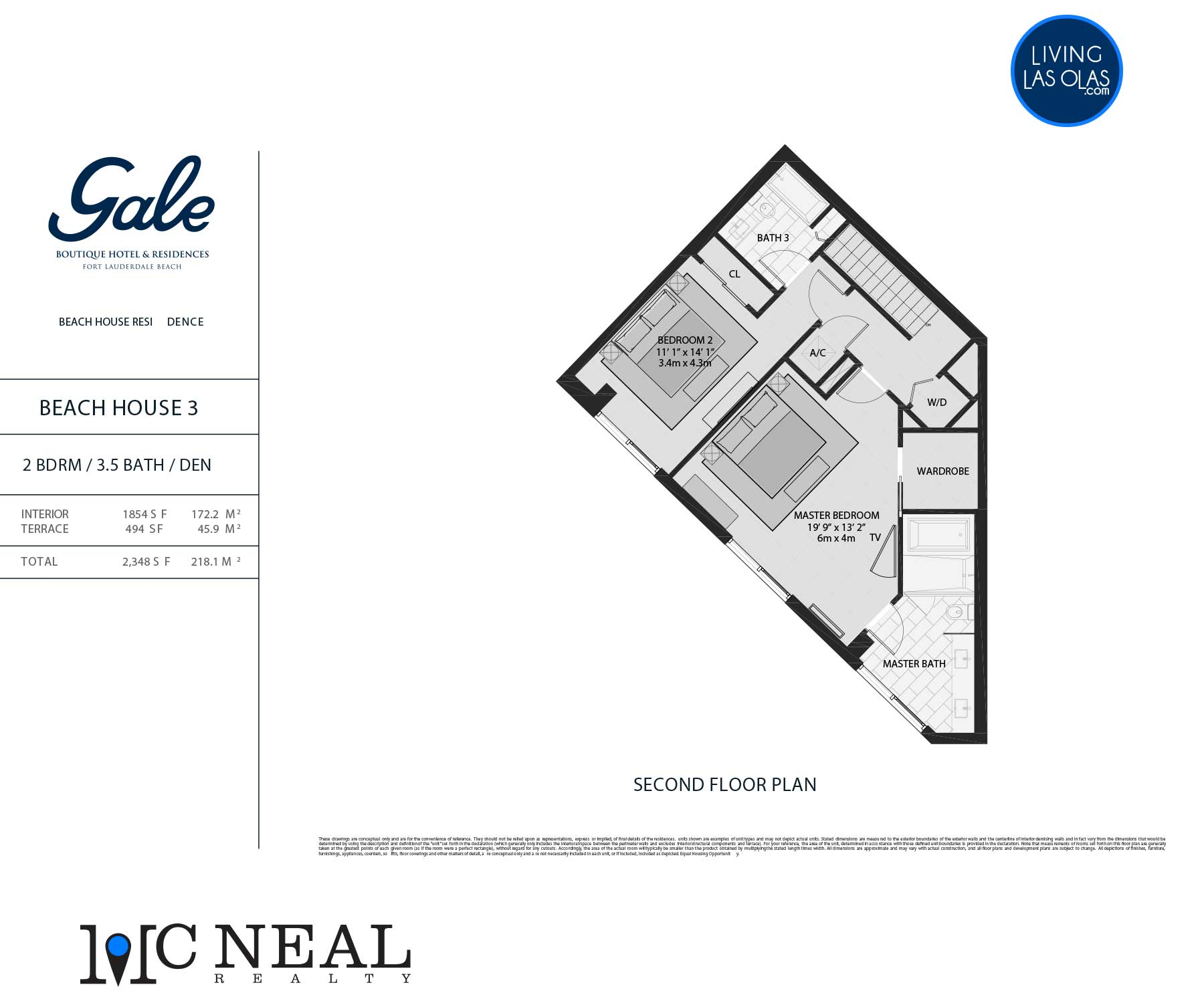 Tiffany House Townhouse Floor Plans TH3-FL2