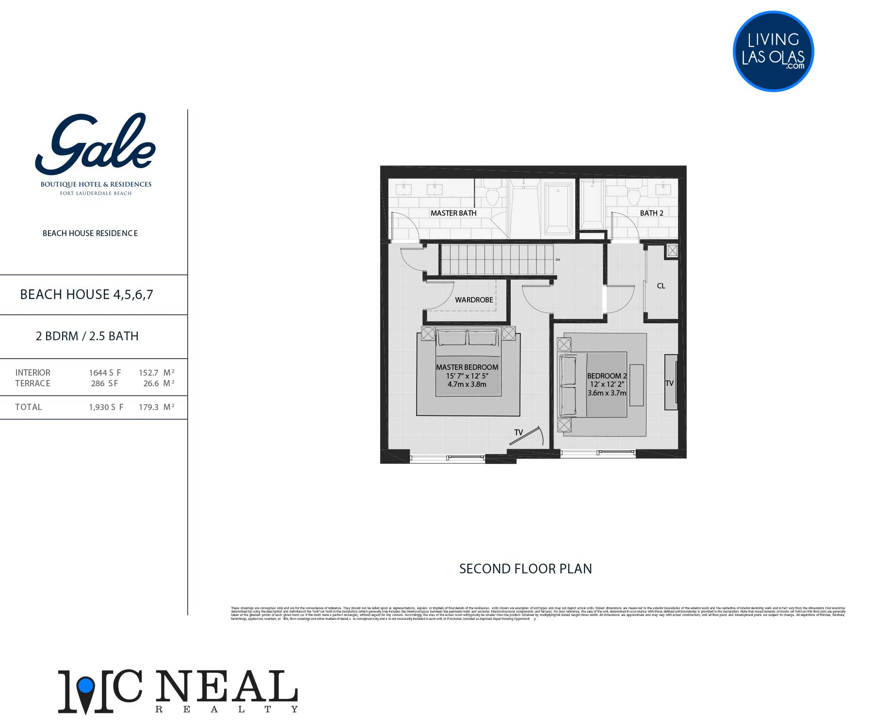 Tiffany House Townhouse Floor Plans TH4-7-FL2