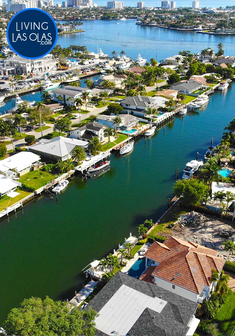 Canal Front Homes Fort Lauderdale Side