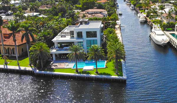 Intracoastal Front Homes Fort Lauderdale